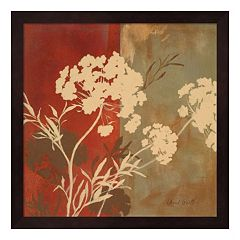 Metaverse Art Among the Flowers I Framed Wall Art