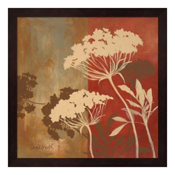 Metaverse Art Among the Flowers II Framed Wall Art