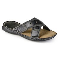 Vance Co. Men's Crisscross Slide Sandals