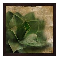 Metaverse Art Succulent II Framed Wall Art