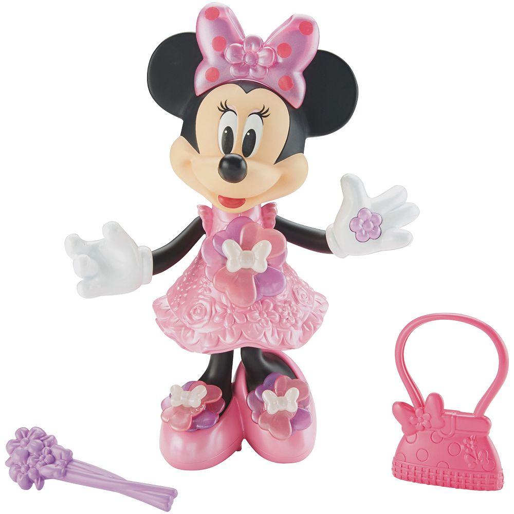 Disney\'s Minnie Mouse Bloomin\' Bows Minnie Doll by Fisher-Price