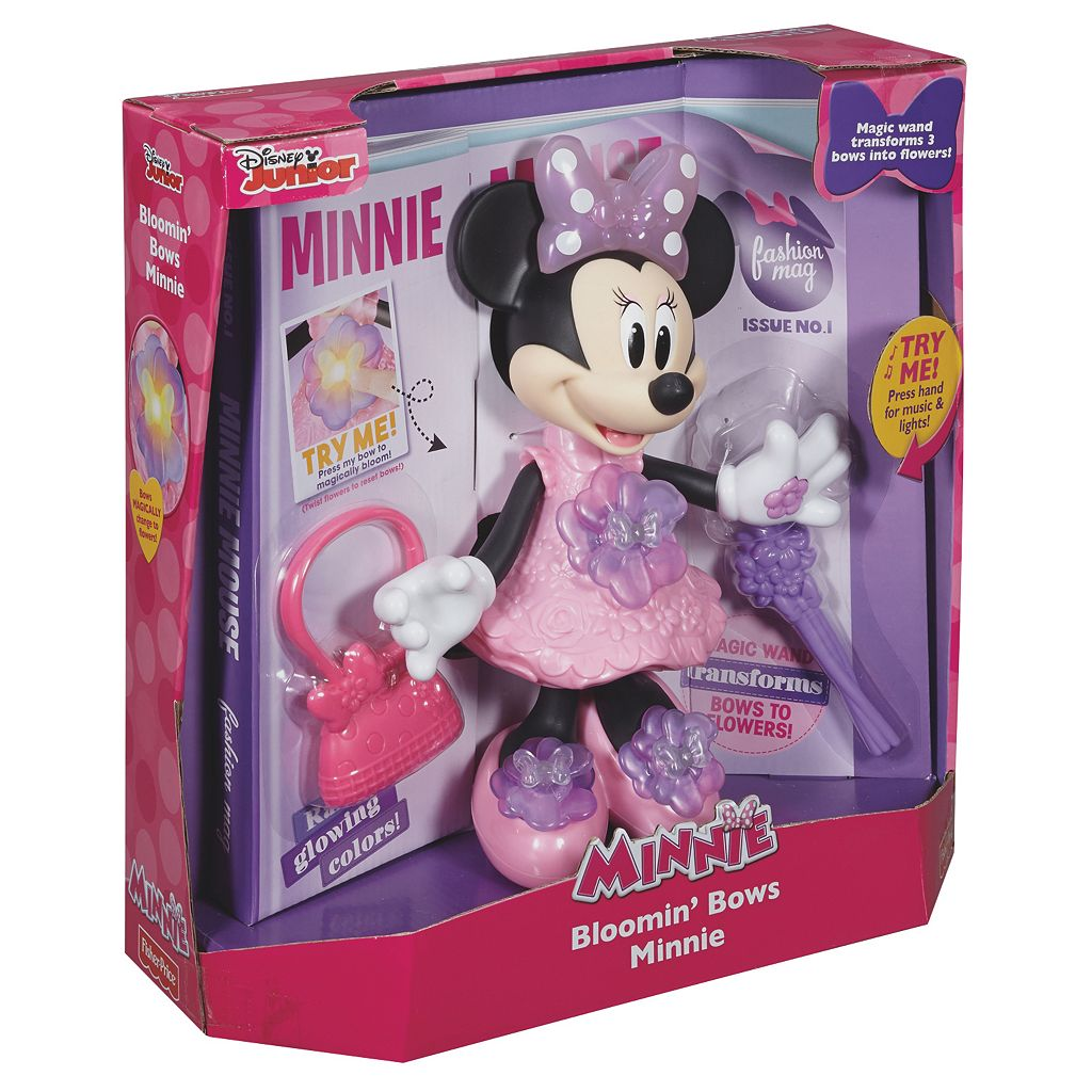 Disney's Minnie Mouse Bloomin' Bows Minnie Doll by Fisher-Price
