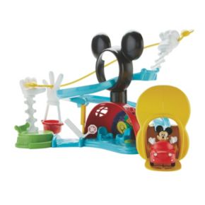 Disney's Mickey Mouse Clubhouse Zip Slide and Zoom Clubhouse by Fisher-Price