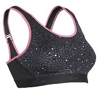CW-X Sports Bra: Versatx Printed High-Impact Compression 165114