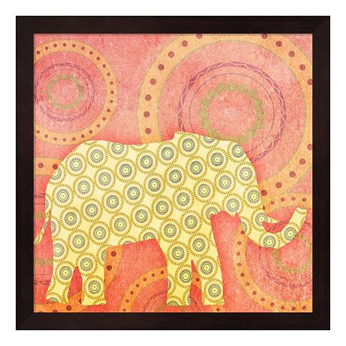 Metaverse Art Elephant Framed Wall Art