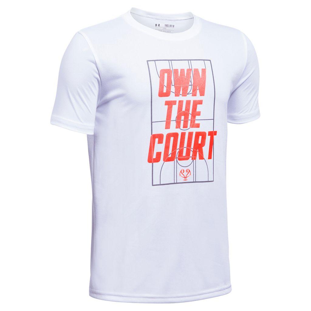 Boys 8-20 Under Armour Own The Court Tee