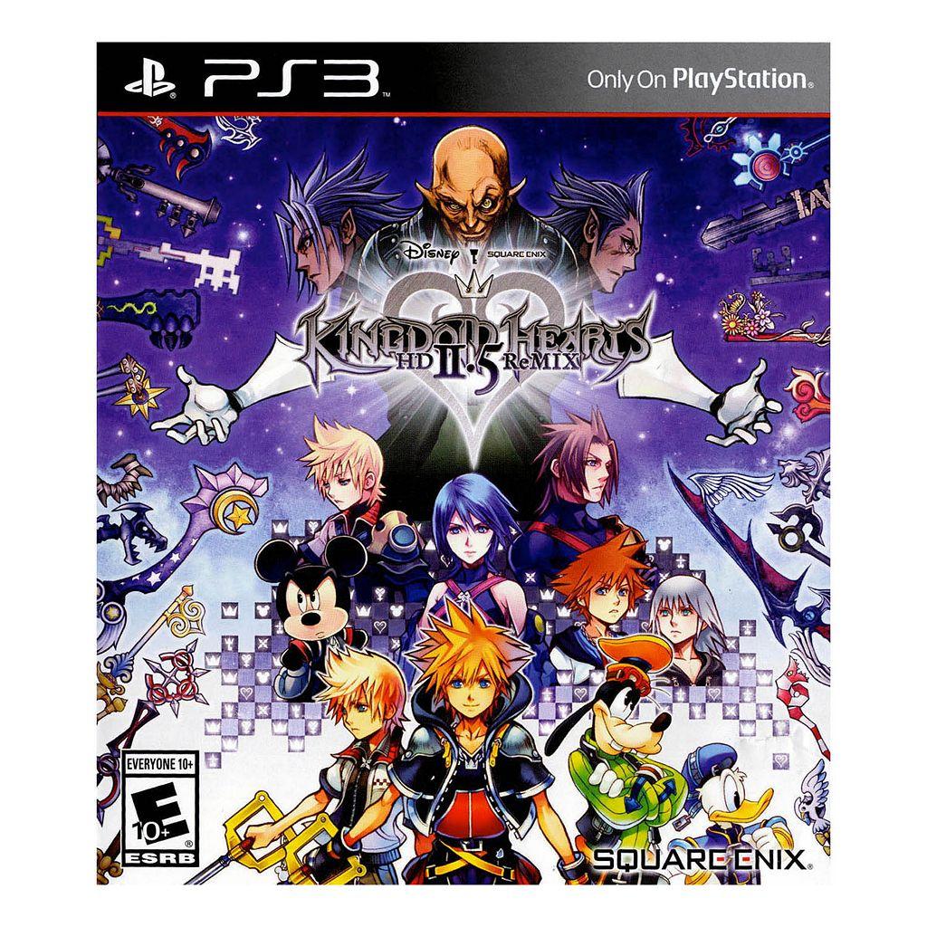 Disney's Kingdom Hearts 2.5 ReMIX for PS3