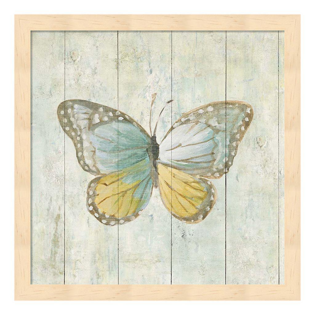 Metaverse Art Natural Flora VI Wood Framed Wall Art