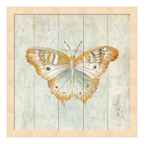 Metaverse Art Natural Flora VII Wood Framed Wall Art