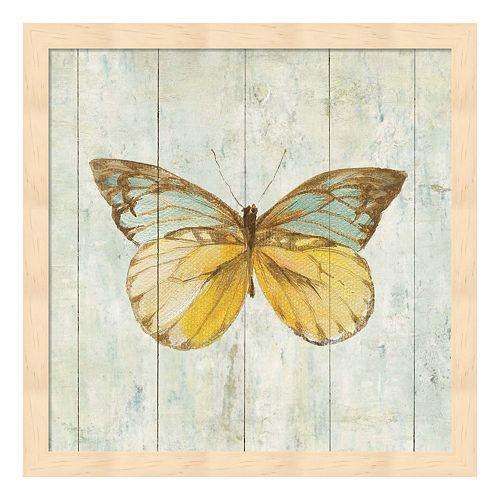 Metaverse Art Natural Flora VIII Wood Framed Wall Art