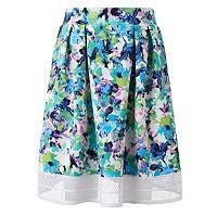 Women's Studio 253 Floral Crochet Skirt