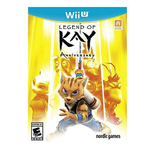 Legend Of Kay Anniversary for Wii U