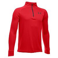 Boys 8-20 Under Armour Tech Block Quarter-Zip Top