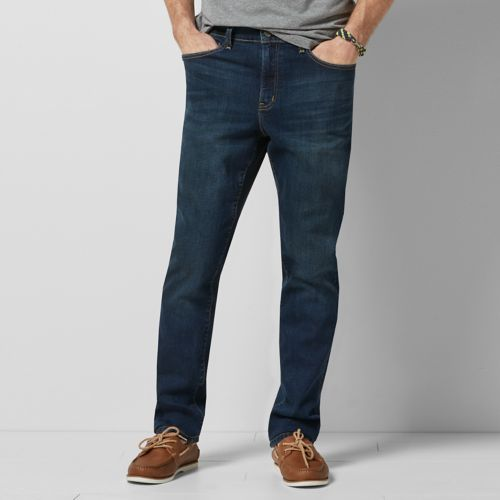 SONOMA Goods for Life™ Flexwear Straight-Fit Stretch Jeans
