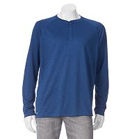 Men's Free Country Birdseye Heathered Henley