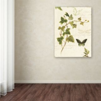 Trademark Fine Art Ivies and Ferns IV Canvas Wall Art