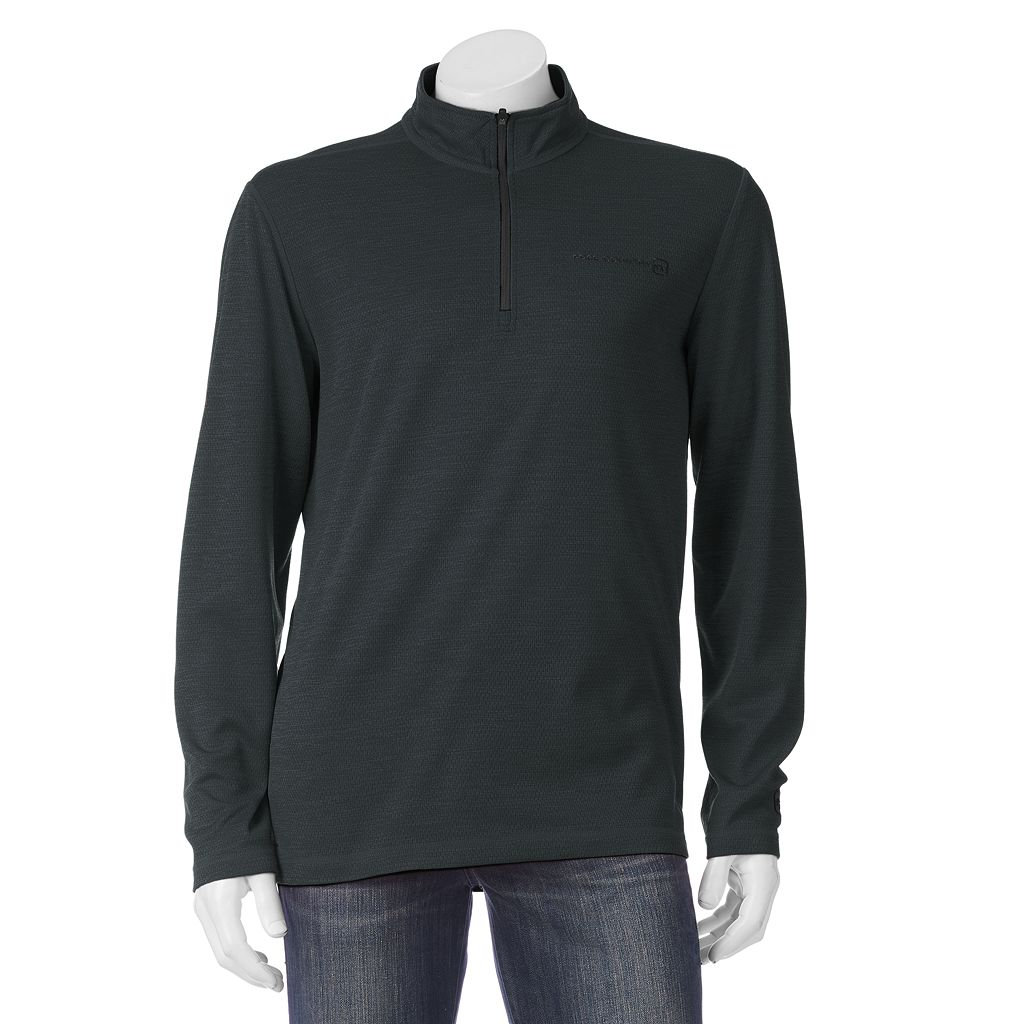 Men's Free Country Birdseye Heathered Quarter-Zip Pullover