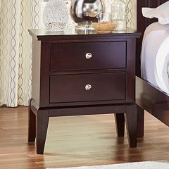 Lifestyle Solutions Dillion 2-Drawer Nightstand
