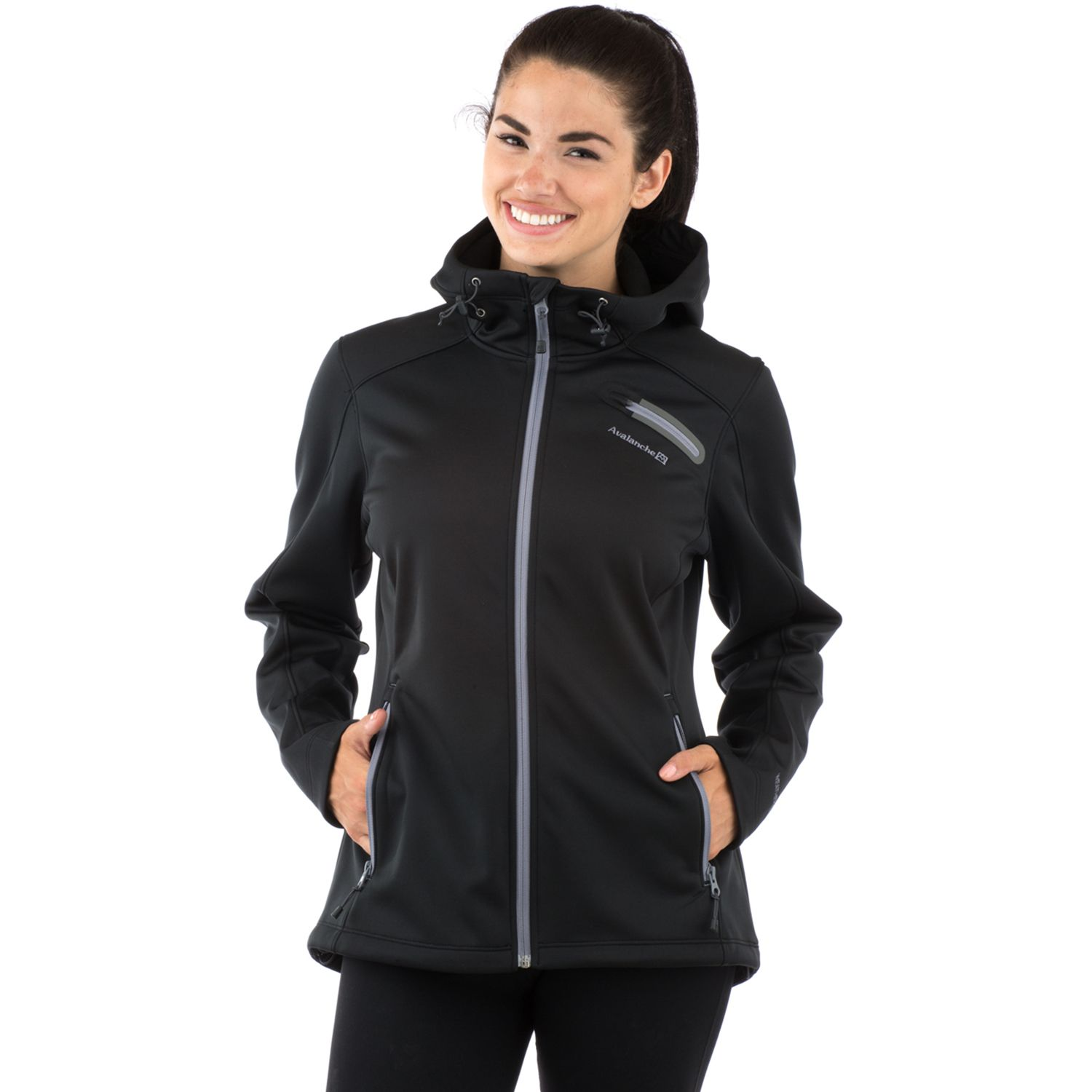 Womens Avalanche Jewel Hooded Softshell Jacket