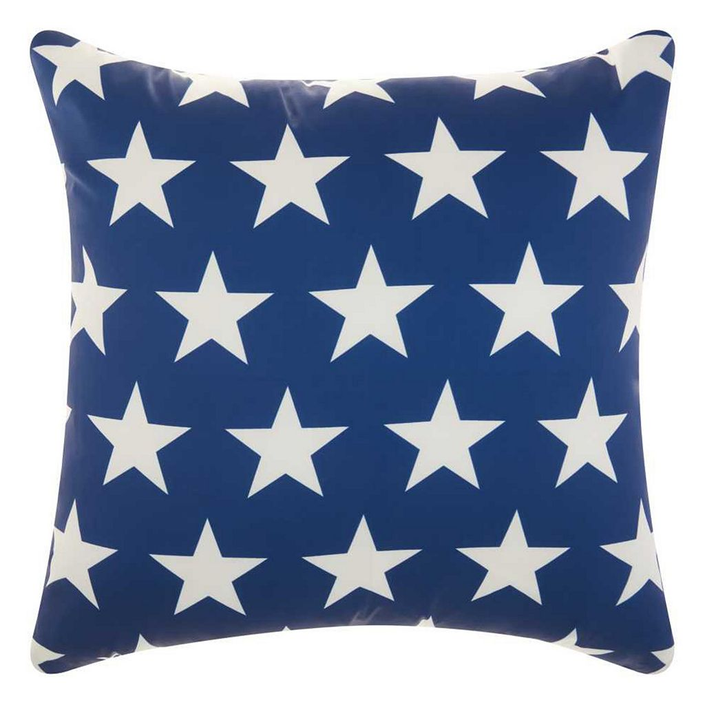 Mina Victory Stars Indoor / Outdoor Throw Pillow