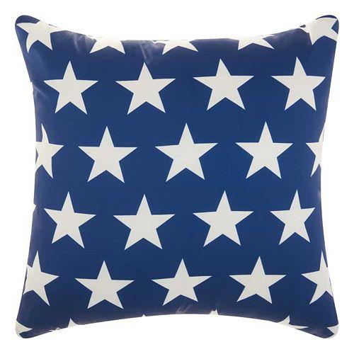 Mina Victory Stars Indoor / Outdoor Throw Pillow