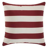 Mina Victory Stripes Indoor / Outdoor Throw Pillow