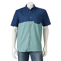 Men's Vans Colorblock Button-Down Shirt