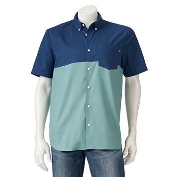 Men's Vans Colorblock Button-Down Shirt