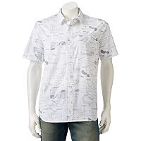 Men's Vans Blueprint Button-Down Shirt