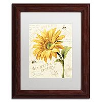 Trademark Fine Art Under the Sun II Framed Wall Art