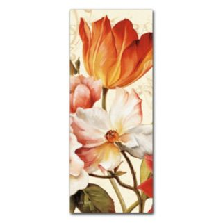 Trademark Fine Art Poesie Florale Panel I Canvas Wall Art