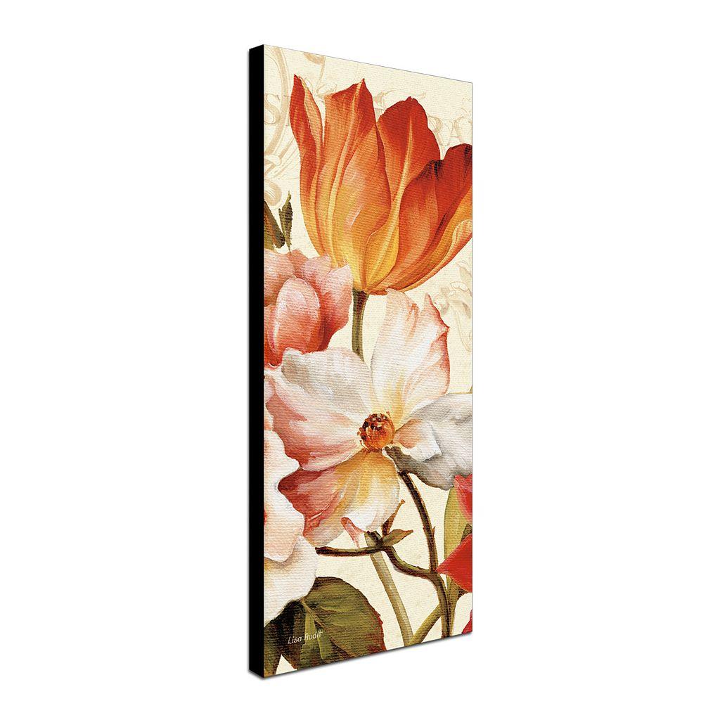 Trademark Fine Art Poesie Florale Panel I Canvas Wall Art