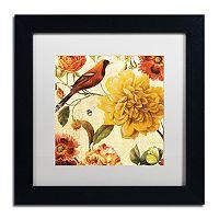 Trademark Fine Art Rainbow Garden Spice II Black Framed Wall Art