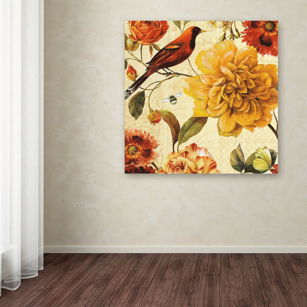 Trademark Fine Art Rainbow Garden Spice II Canvas Wall Art