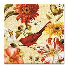 Trademark Fine Art Rainbow Garden Spice III Canvas Wall Art