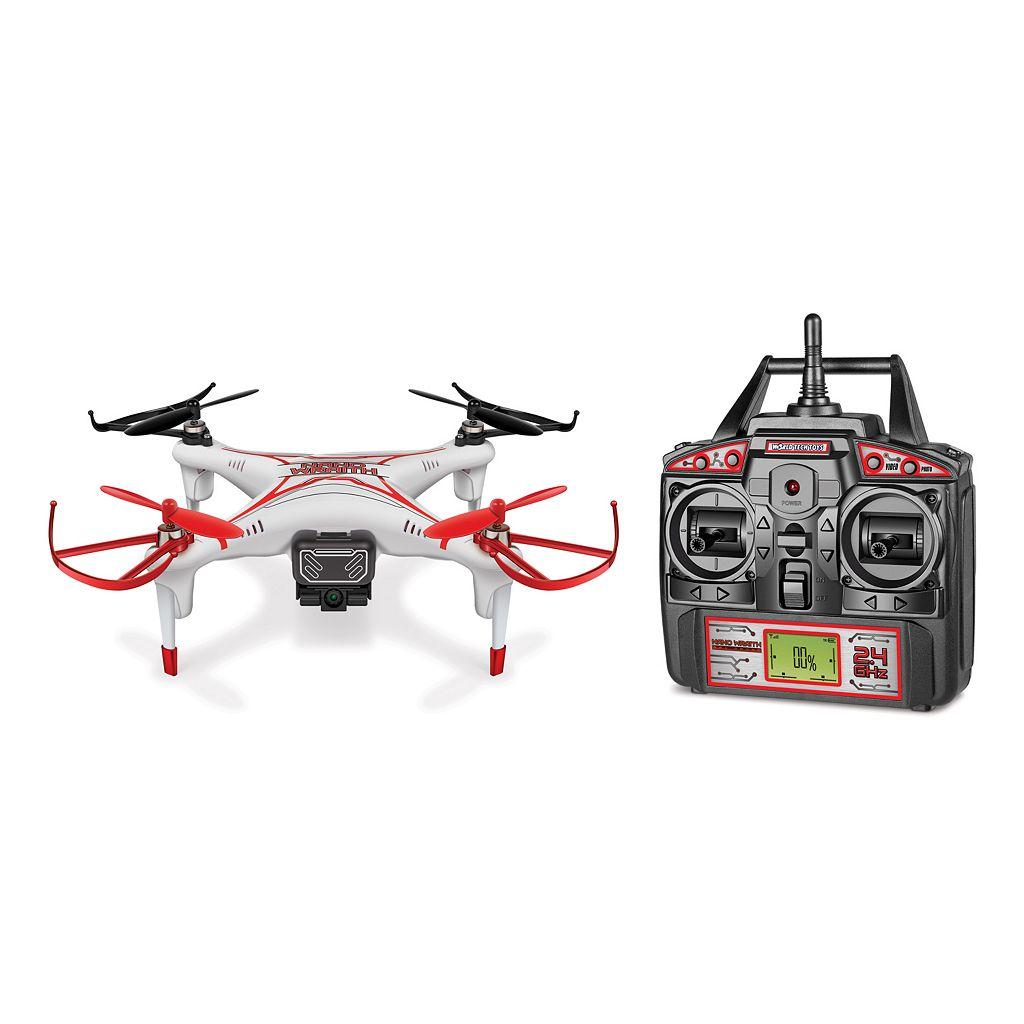 Nano Wraith 2.4GHz 4.5CH RC Quadcopter Spy Drone by World Tech Toys