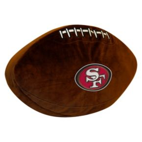 San Francisco 49ers Football Pillow