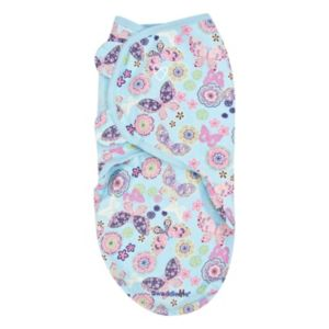 Summer Infant SwaddleMe Large Flutter Flower Butterfly Original Swaddle