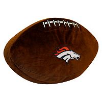 Denver Broncos Football Pillow