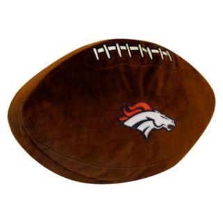 Denver Broncos Football Pillow