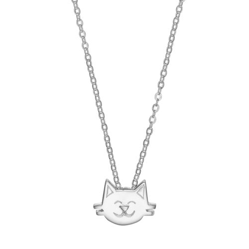 love this life Cat Pendant Necklace