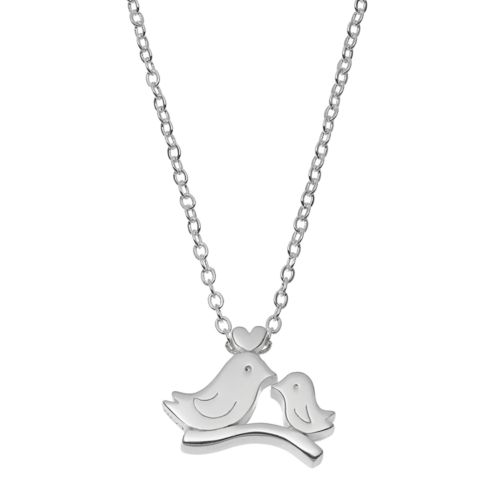 love this life Love Birds Pendant Necklace