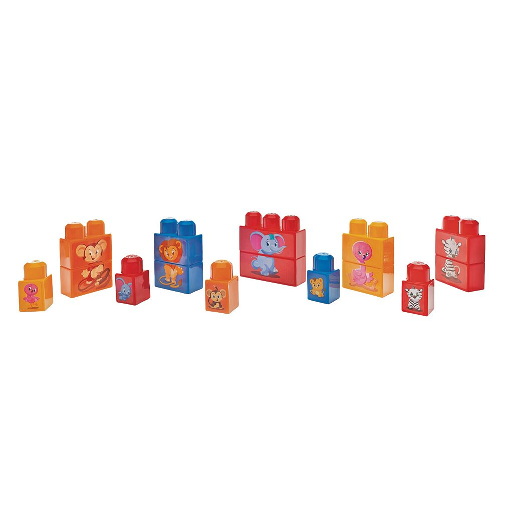 Mega Bloks Match N Stack Animals Set