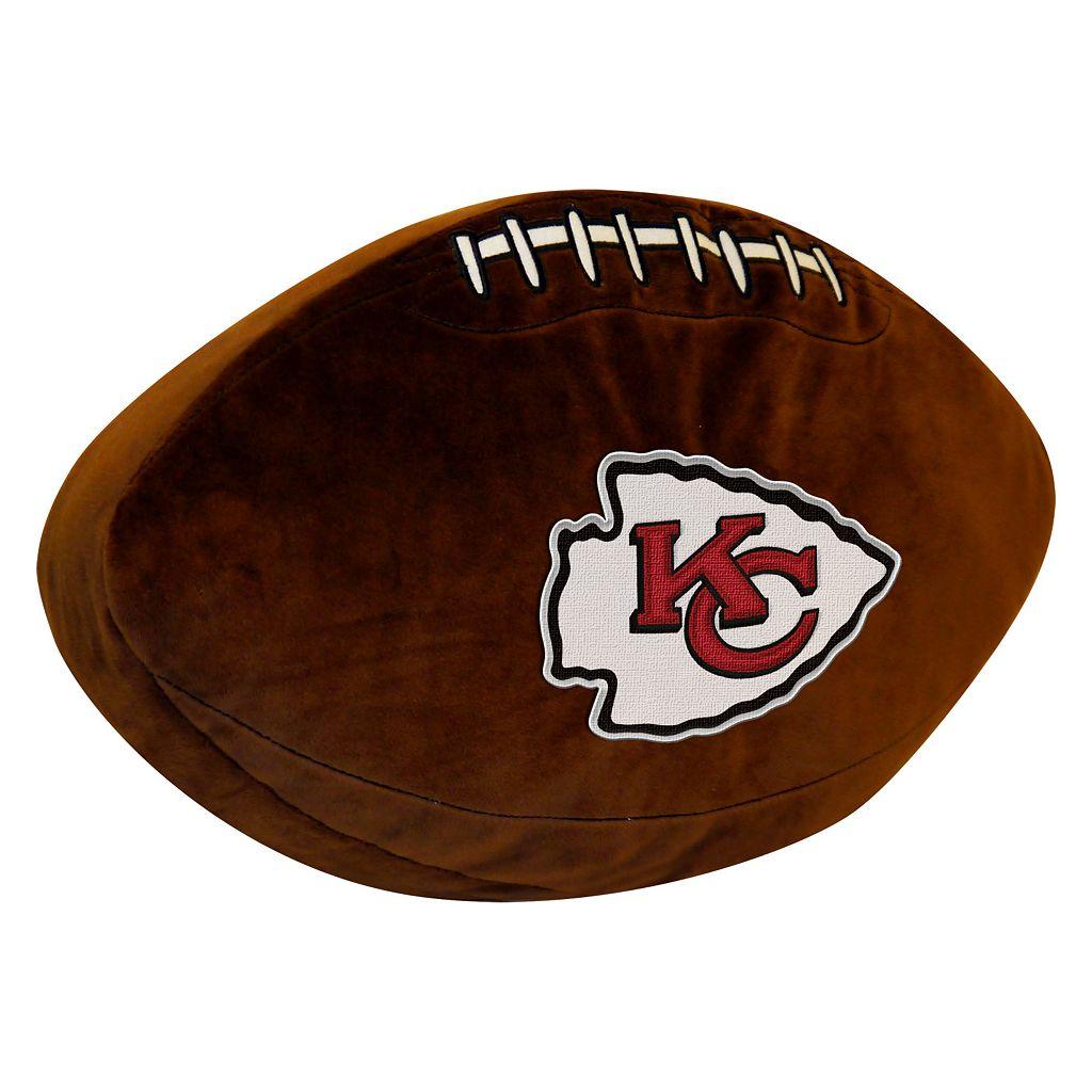 Kansas City Chiefs Football Pillow