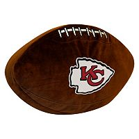 Kansas City Chiefs Football Pillow