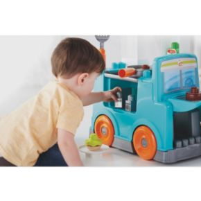 Mega Bloks Food Truck Kitchen Set