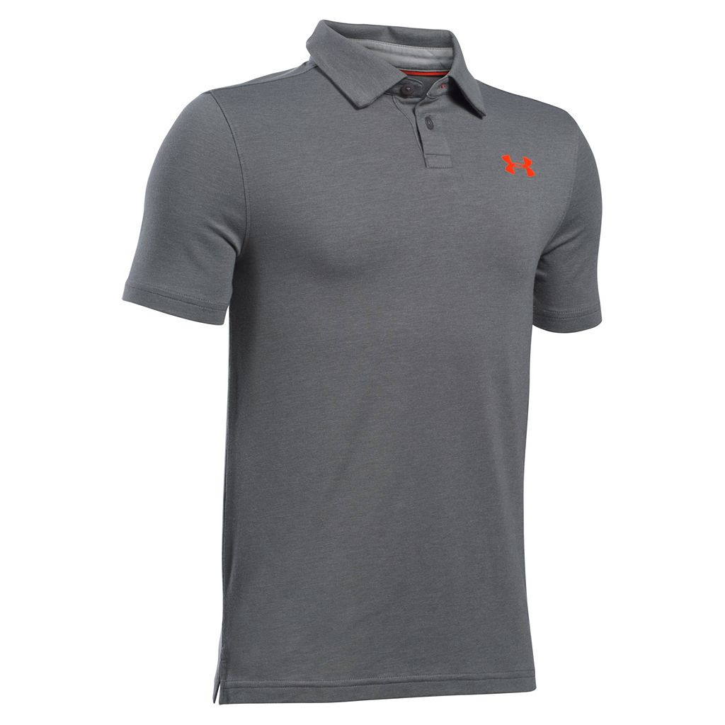 Boys 8-20 Under Armour Charged Polo