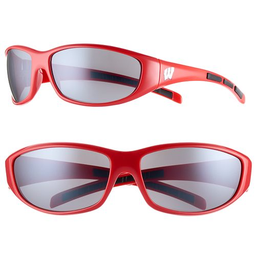 Adult Wisconsin Badgers Wrap Sunglasses