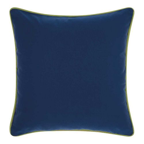 Mina Victory 3-color Corded Solid Indoor / Outdoor Throw Pillow