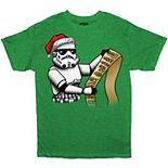 Men's Star Wars Stormtrooper Naughty And Nice List Tee